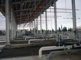 تاسیسات گاز مایع اسکله نفتی نکا