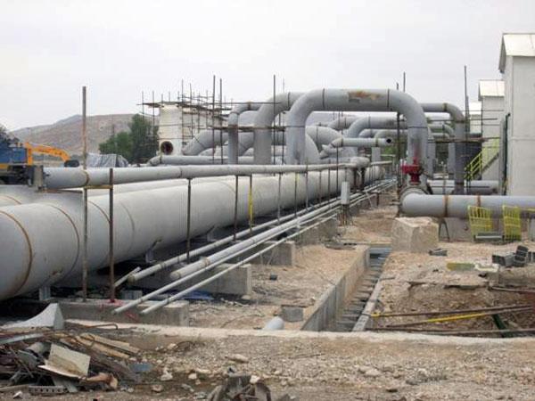 یازده ایستگاه تقویت فشار گاز