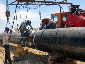 خط انتقال گاز به پالایشگاه بیدبلند