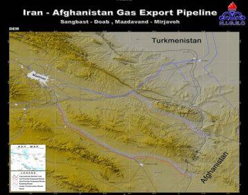 مطالعات امکان سنجی و مسیریابی صادرات گاز