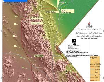 خط انتقال گاز زاهدان زابل